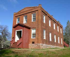 Columbia State Historic Park school