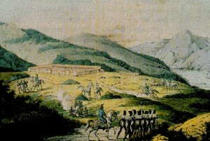San Francisco Presidio in 1816