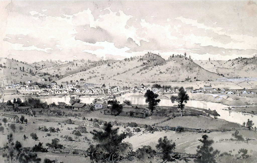 Coloma, California in the 1850s