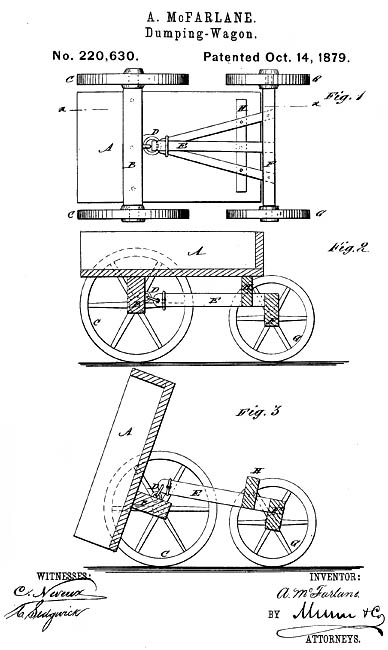 Annie McFarlane patent drawing