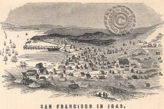 San Francisco in 1849