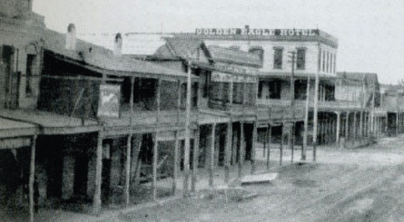 Golden Eagle Hotel, Marysville (1856)