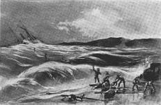 SS Northerner wrecked at Centerville Beach 1860