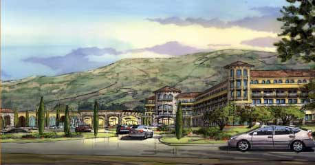 Proposed Cloverdale Rancheria Destination Resort & Casino.