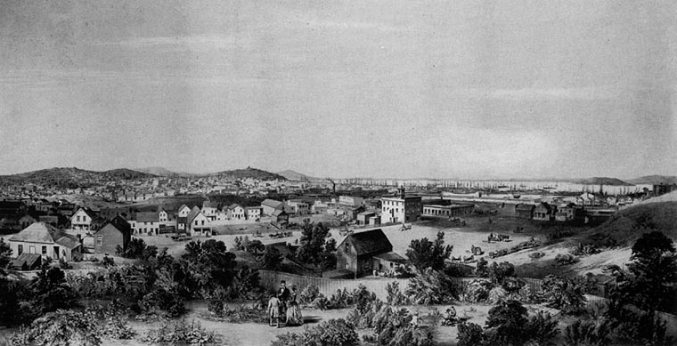 San Francisco in 1854