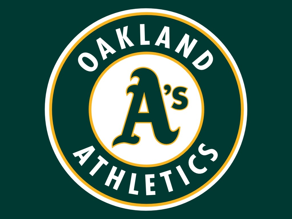 Oakland Athletics logo.