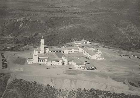 San Diego State Teacher's College (1931). Courtesy of San Diego State University.