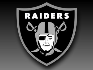 Raiders logo.