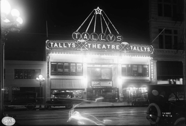 Tally's Electric Theatre.