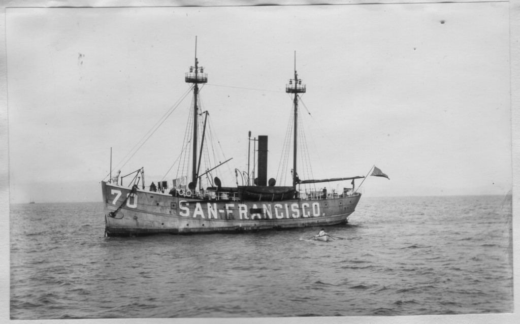 San Francisco lightship (circa 1896).