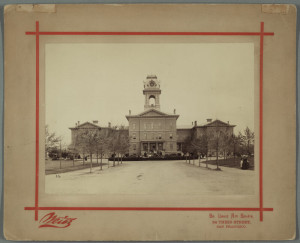 San Jose State Normal School (circa 1885-1905).