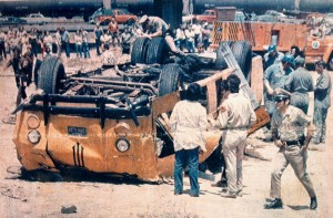 Yuba City High School bus disaster (1976).