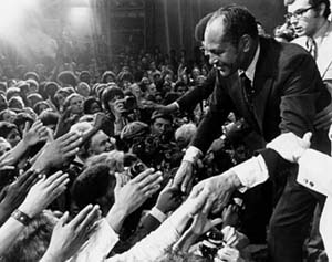 Tom Bradley Election Night Victory (1973). Image courtesy of Los Angeles Public Library.