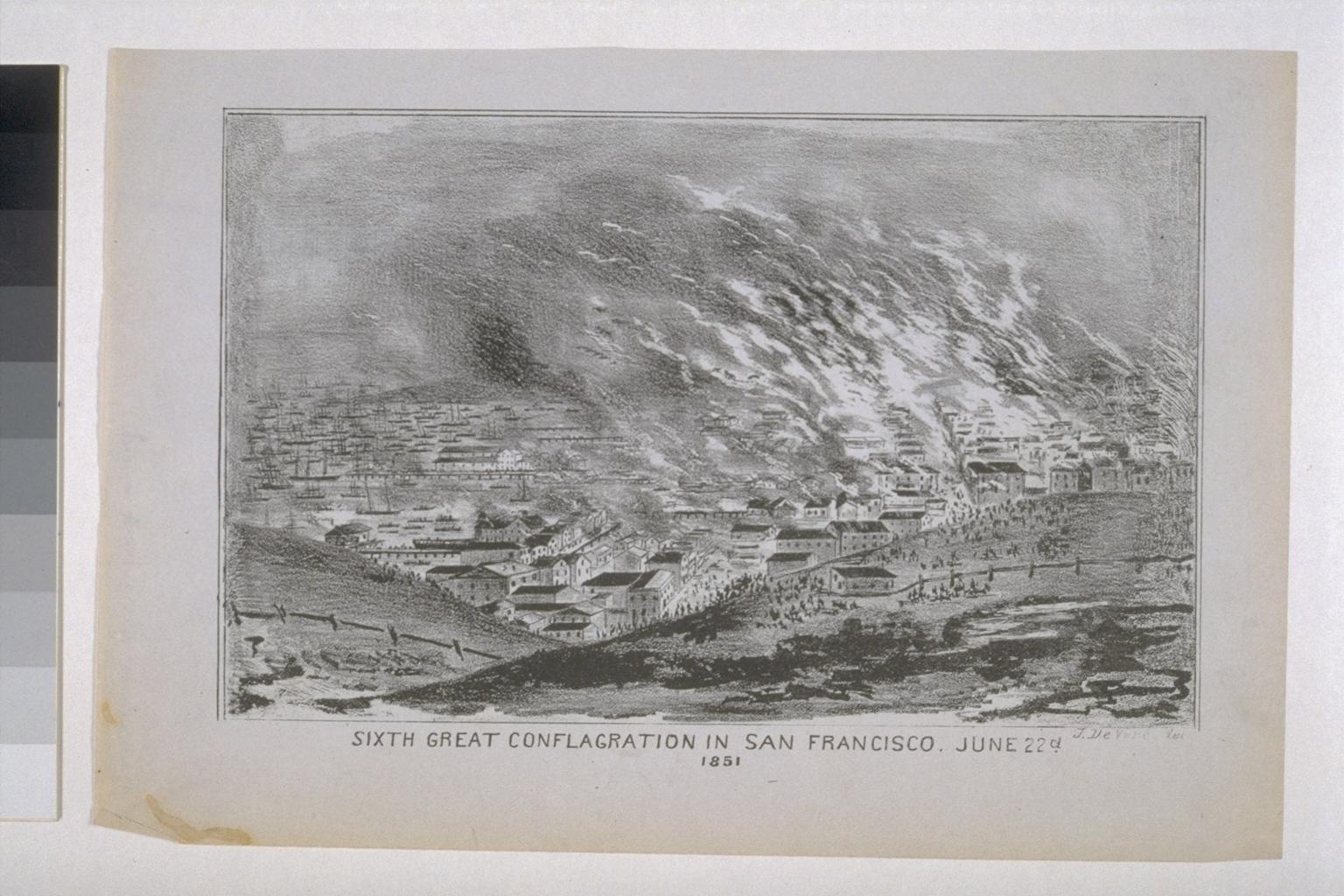 San Francisco fire (1851).
