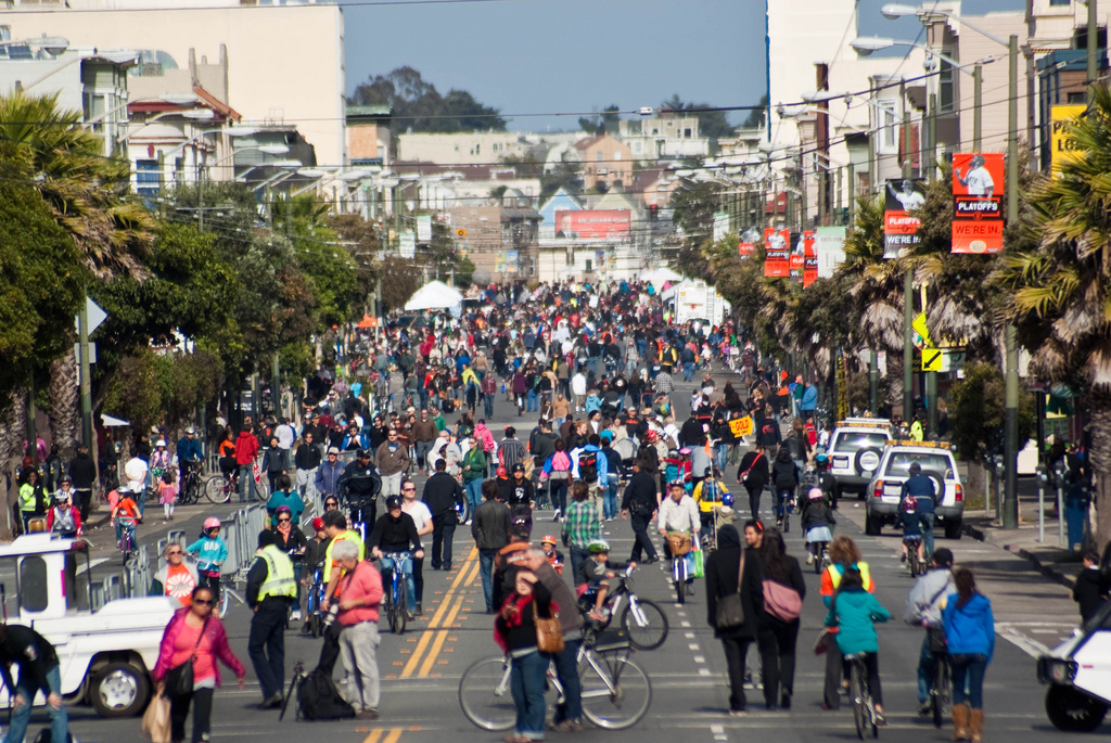 Open Streets, San Francisco.