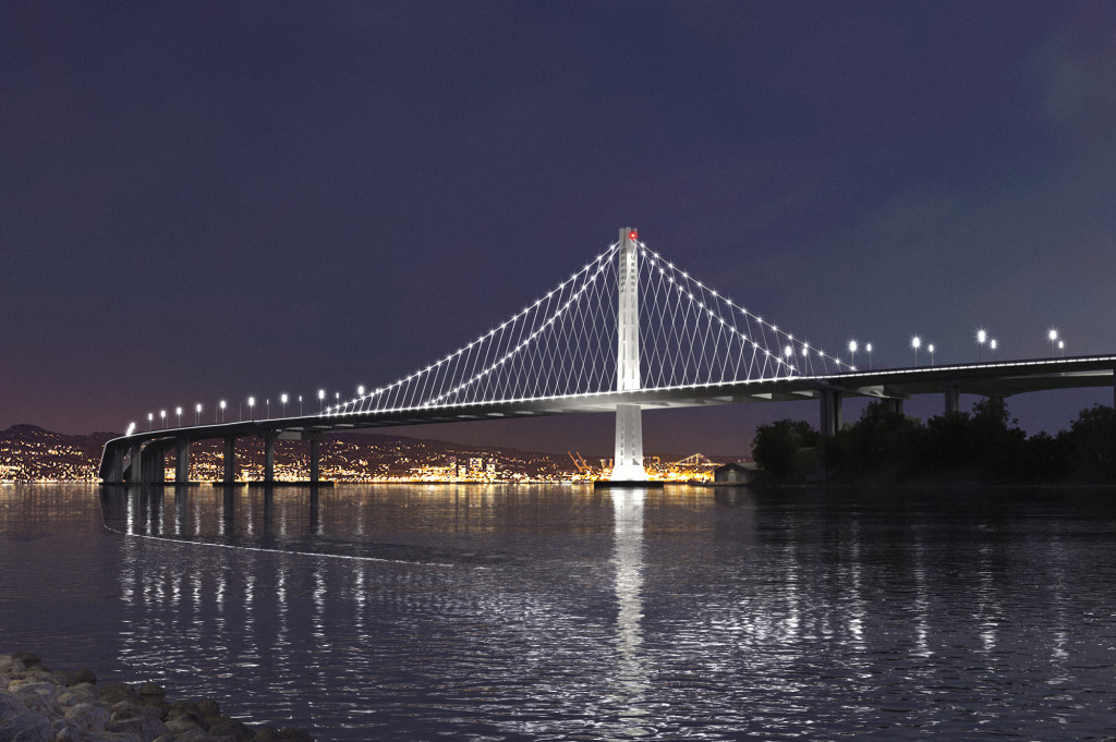 Eastern span of the San Francisco–Oakland Bay Bridge.