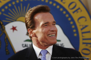 Arnold Schwarzenegger, California governor.