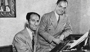 George and Ira Gershwin.