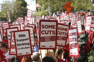 Nurses strike (2011).