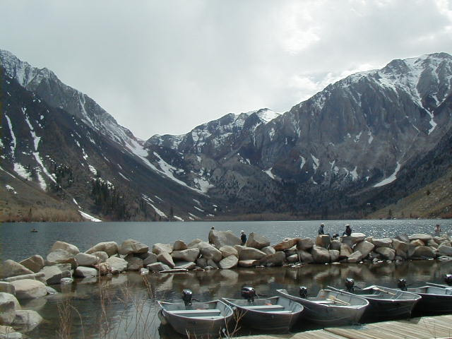 Convict Lake campground.
