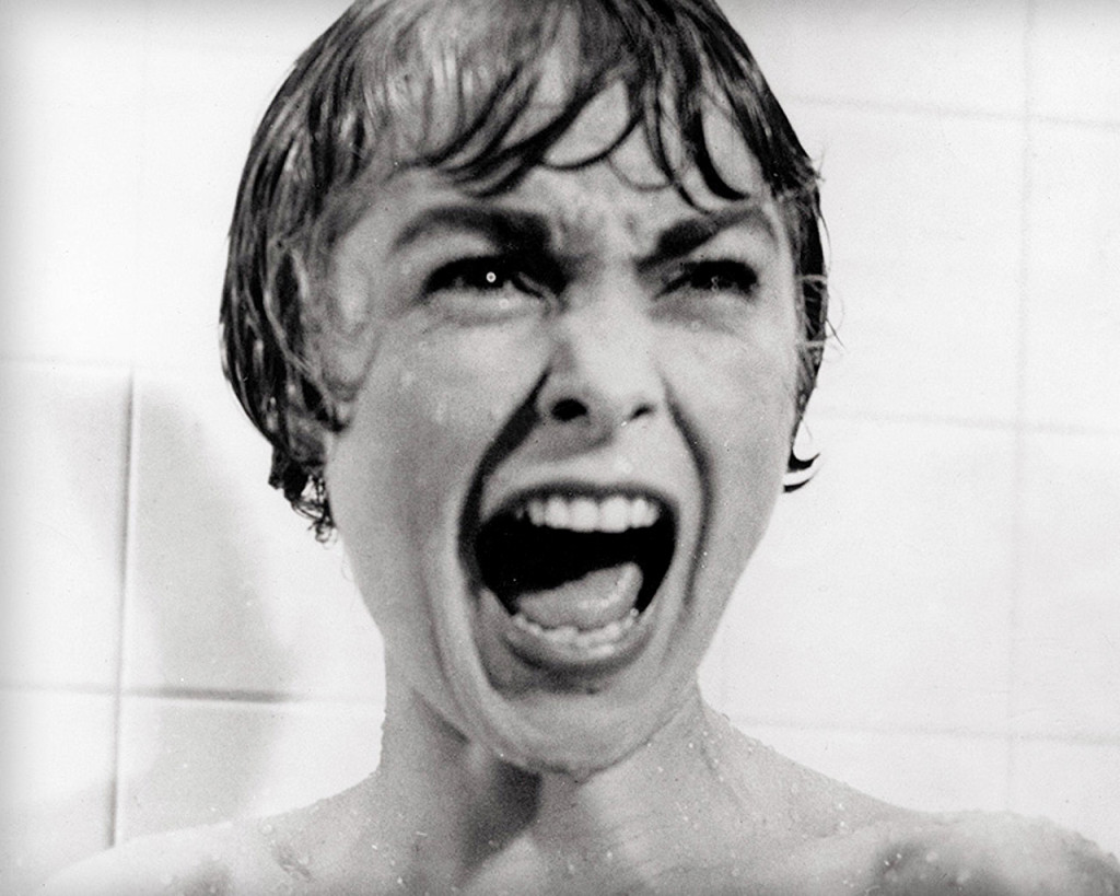 Janet Leigh in Psycho (1960).