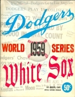 Dodgers vs White Sox World Series (1959).