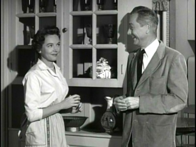 Jane Wyatt in Father Knows Best.