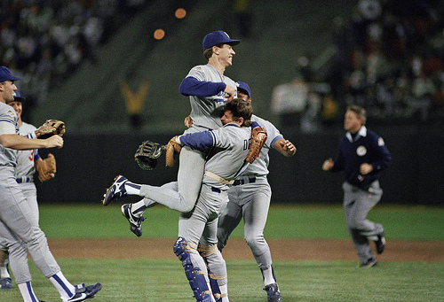Dodgers World Series (1988).
