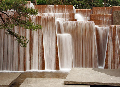 Keller Fountain in Portland (1995).