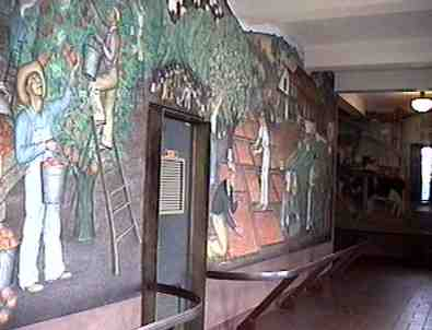 Coit Tower murals.