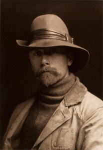 Edward Curtis, self-portrait (1899).