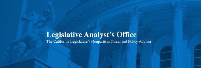 Legislative Analyst's Office.