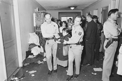 U.C. Berkeley students arrested (1964).