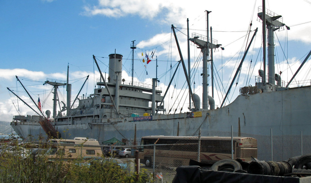 SS Red Oak Victory Ship, Port of Richmond.