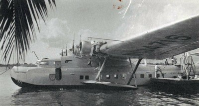Pan American Martin M-130 China Clipper, (1935).
