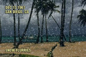 Snow in San Diego (1967).