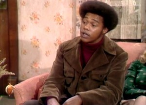 "Mike Evans as Lionel Jefferson on ""All in the Family."""