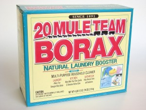 20 Mule Team Borax.