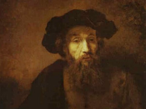 Rembrandt, Portrait of a Rabbi (1657).
