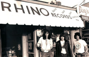 The Ramones at Rhino Records.