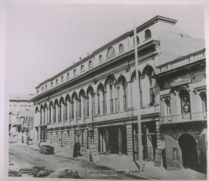 California Theatre (circa 1870).