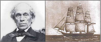Timothy Rix sailed aboard the Edward Everett.