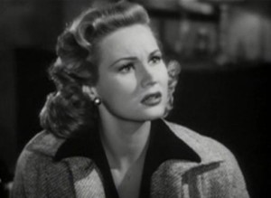 "Virginia Mayo in ""Red Light"" (1949)."