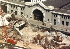 Embarcadero Freeway demolition (1991).
