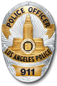 Los Angeles Police Department.