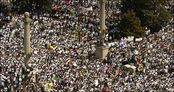 Immigration rally (2009).