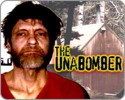 "Theodore Kaczynski, known as the ""Unabomber."""