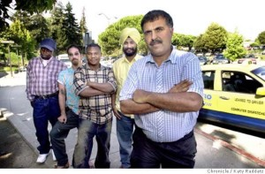 East Bay taxi drivers.