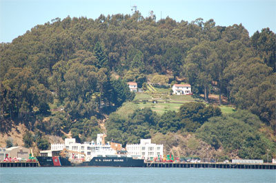 U.S. Coast Guard Station, Yerba Buena Island.
