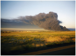 Royster Tire Disposal facility fire (1998).